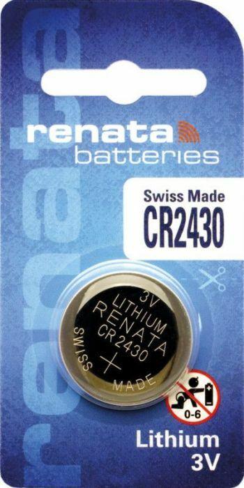 Nya Renata Lithium batteri CR2430 3V | BatteriButik.se DK-83