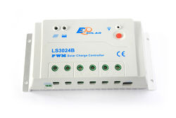 EPsolar regulator 12/24V 30A PWM laddningsregulator