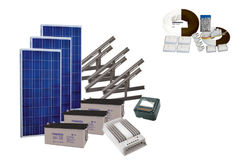 Solenergipanel elsystem Solar 545, MPPT-regulator