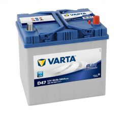 Varta batteri Blue Dynamic D47 12v 60Ah