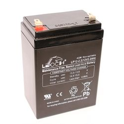 Leoch agm batteri LP12-2,2 12v 2,2Ah