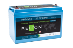 RELi3ON RB24V50 Lithiumakku 25,6V 50Ah