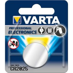 Varta CR2025 Lithiumbatteri 3V
