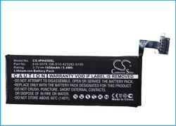 Mobil batteri Apple Iphone 4S   3,7V 1450mAh
