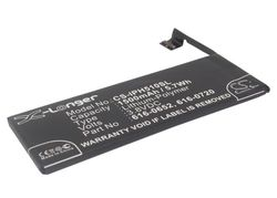 Mobil batteri Apple Iphone 5S   3,8V 1500mAh