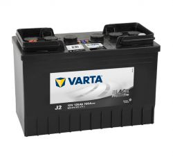 Varta batteri Promotive Black J2 12v 125Ah