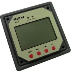 LCD MT-1 display Epsolar regulator för dubbla batterier
