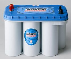 Optima Batteri Blue Top BT DC 5,5 12V 75Ah