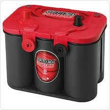 Optima Batteri Red Top RT U 4,2 12v 50Ah