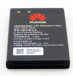 Huawei Wireless E5577 dongle batteri 3,8V 3000mAh Liion HB824666RBC