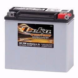 Deka MC-Batteri ETX20L 12v 17,5Ah HD Orginalbatteri