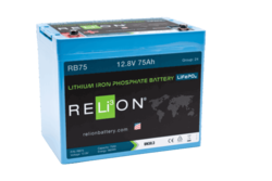 RELi3ON RB75 Lithiumakku 12,8V 75Ah
