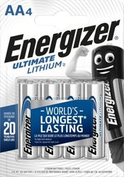 Energizer Ultimate Lithium AA paristo 4kpl