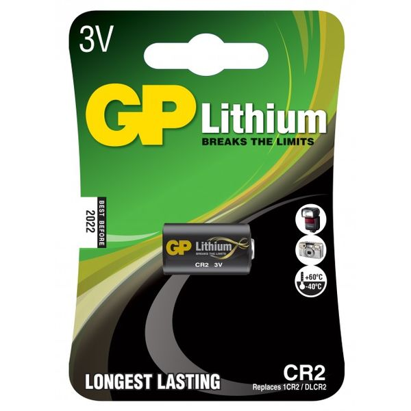 Lithium batteri 3V GP CR2