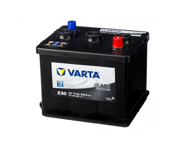 Varta batteri Promotive Black E30 6V 77Ah