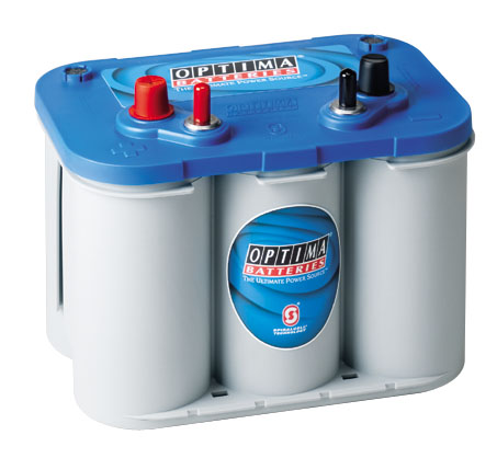 Optima Batteri Blue Top BT DC 4,2 12V 55Ah